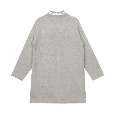 mink pocket dress gray